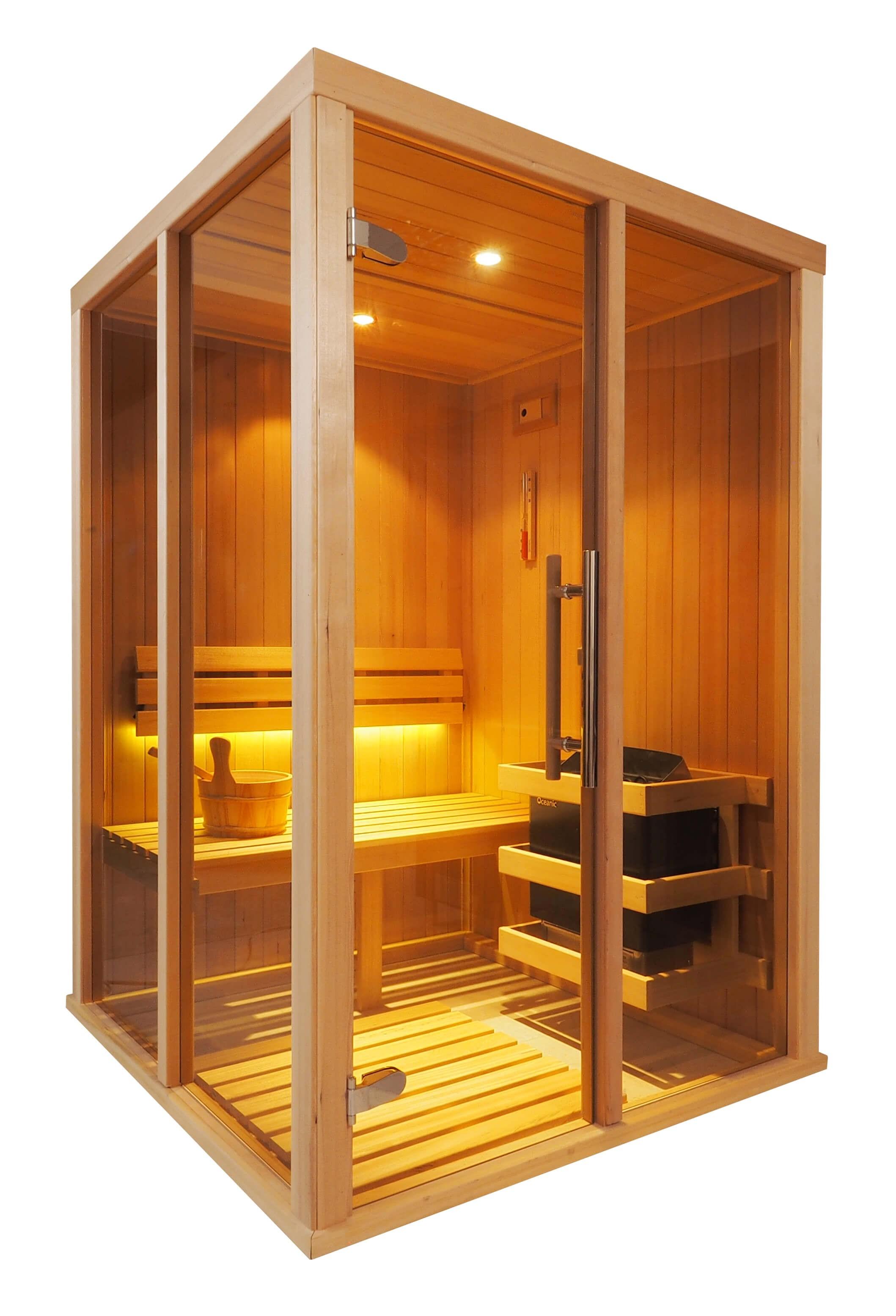Sauna Finlandese Tradizionale Oceanic Vision Da 2 Posti V2020