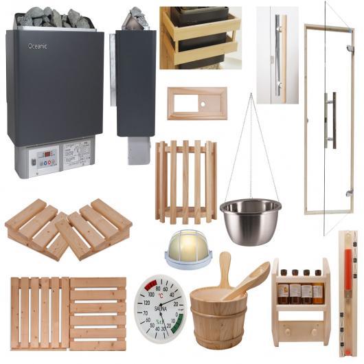 Kits d'installation sauna
