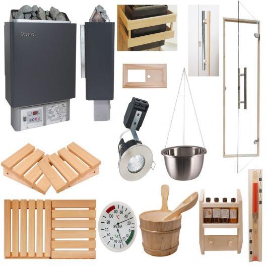 Kits de instalación de sauna