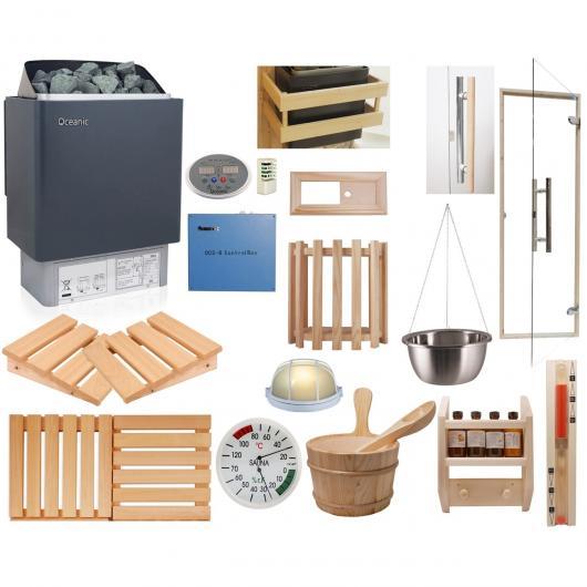Kit de construção para sauna