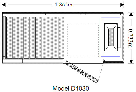 D1030 Technical drawing