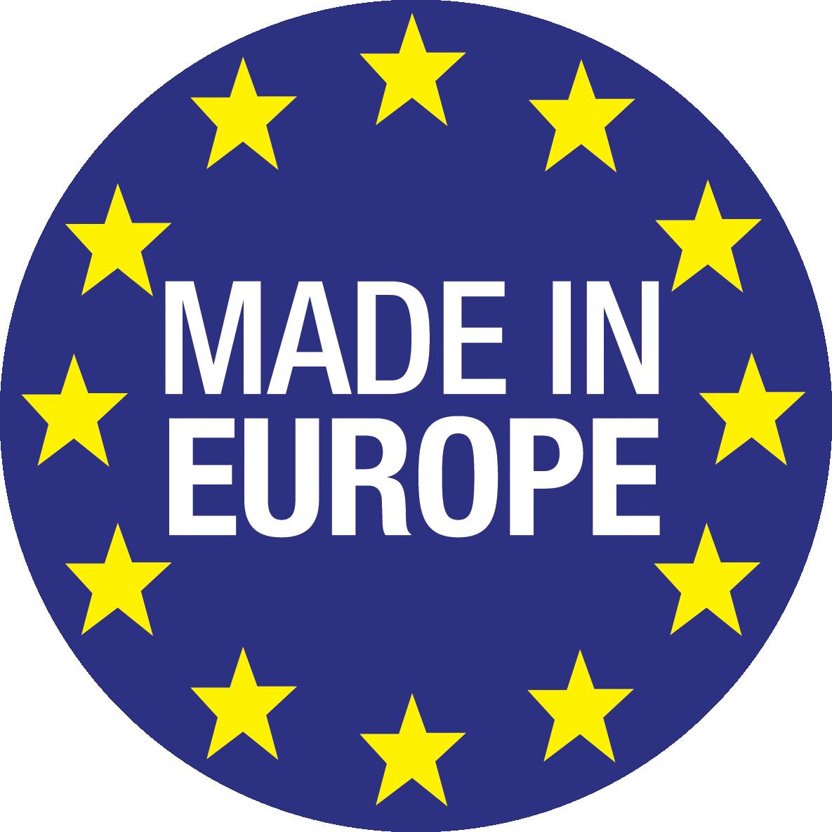 Oceanic Saunas Made in Europe logo