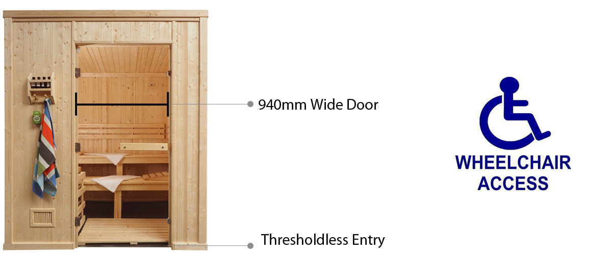 Disabled door access