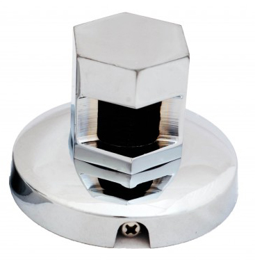 chrome steam inlet nozzle